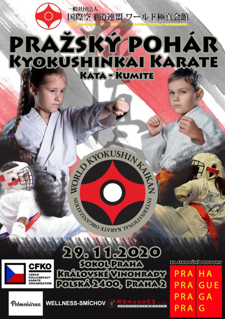 Pražský pohár Kyokushinkai karate 2020